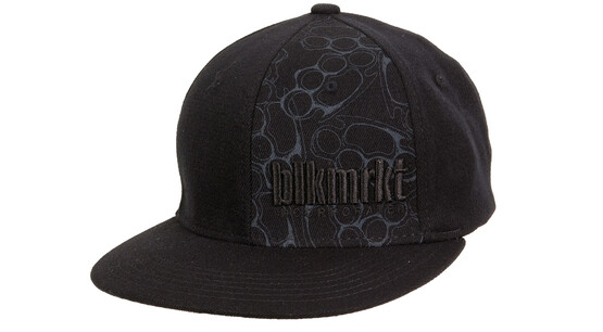 BLACK MARKET BIKE Knuckle-Up Cap fitted noir